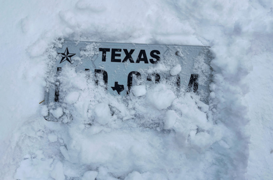 Texas Storm Winterizing Electrical Infrastructure