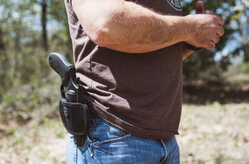 Permitless handgun carry bill nearly signed into Texas law